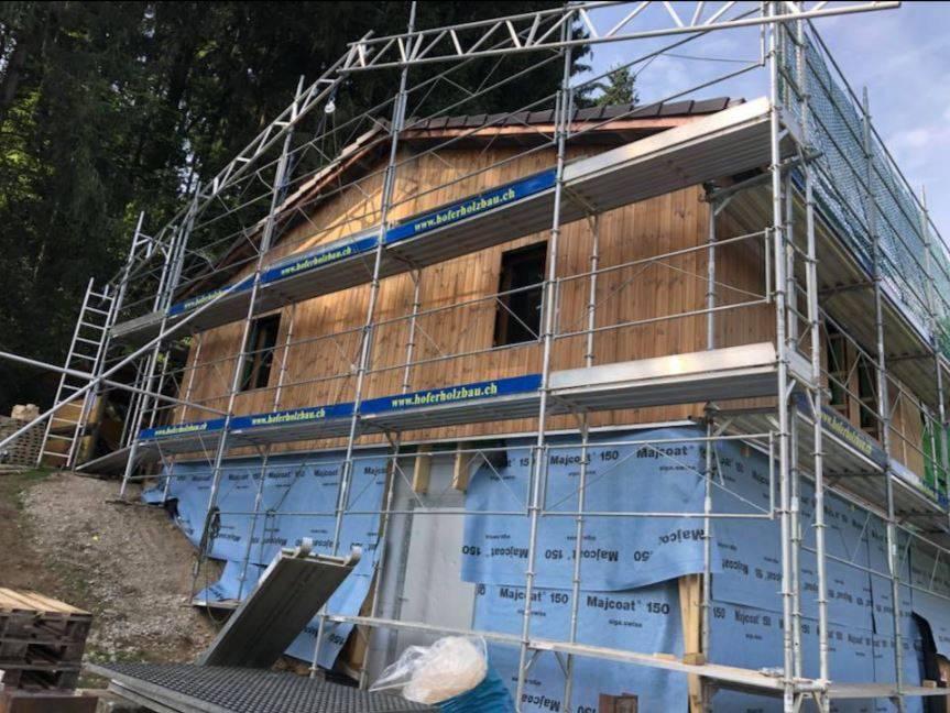 Projekt Pfadiheim Sanierung