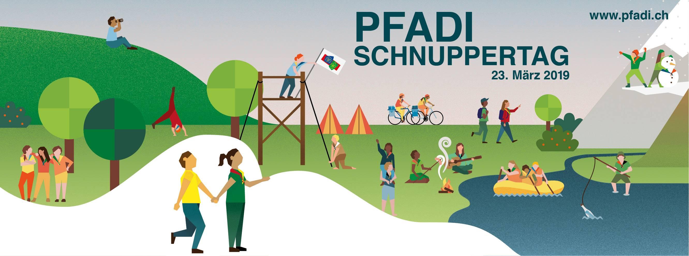 Pfadi Schnuppertag – 23. März 2019